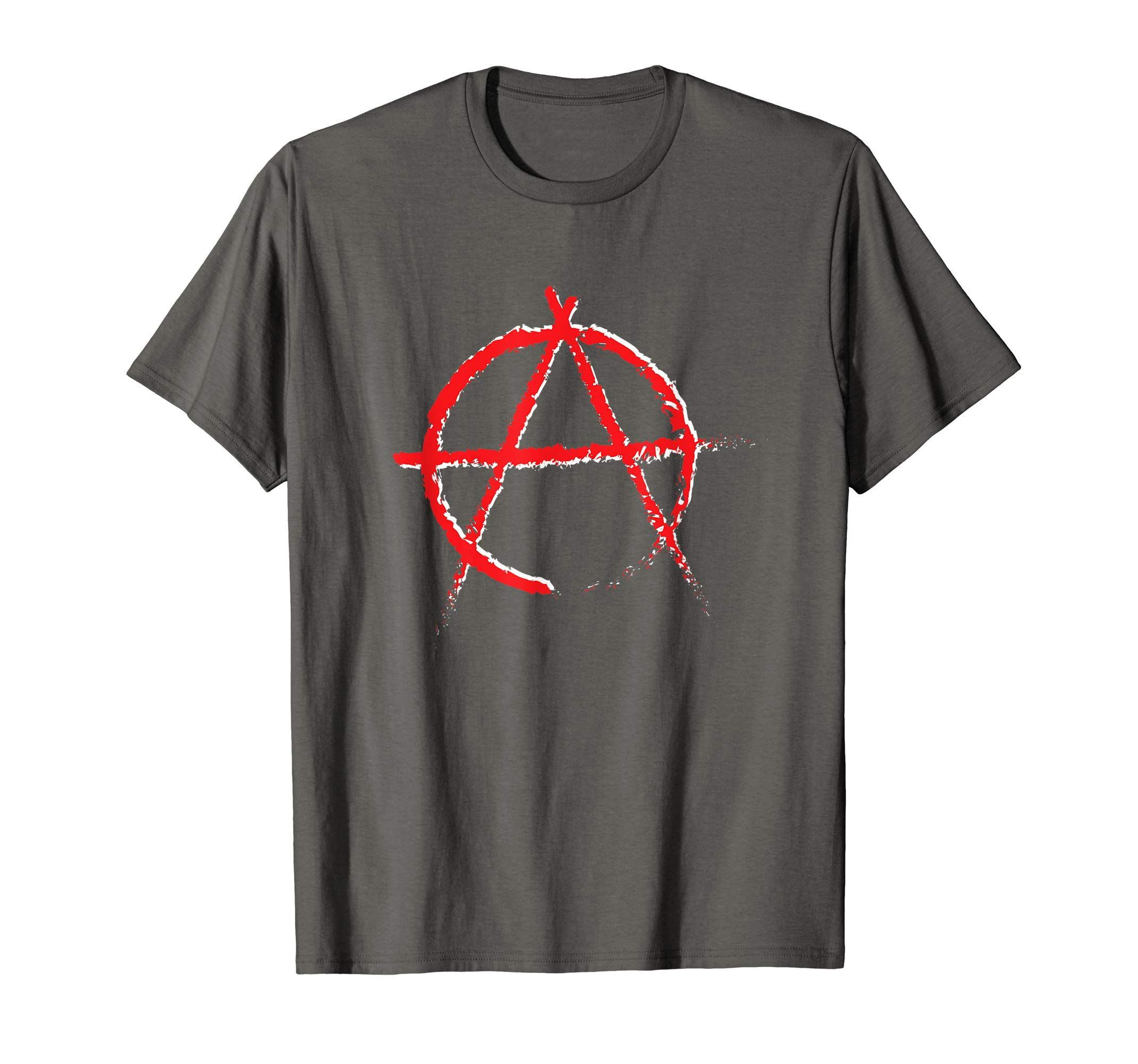 Anarchy Symbol T Shirt By Scar Design 5 Colors For Men Women And Youth Buy Yours On Amazon Store Now Refuse Resist Shirts Mens Shirts Mens Tshirts