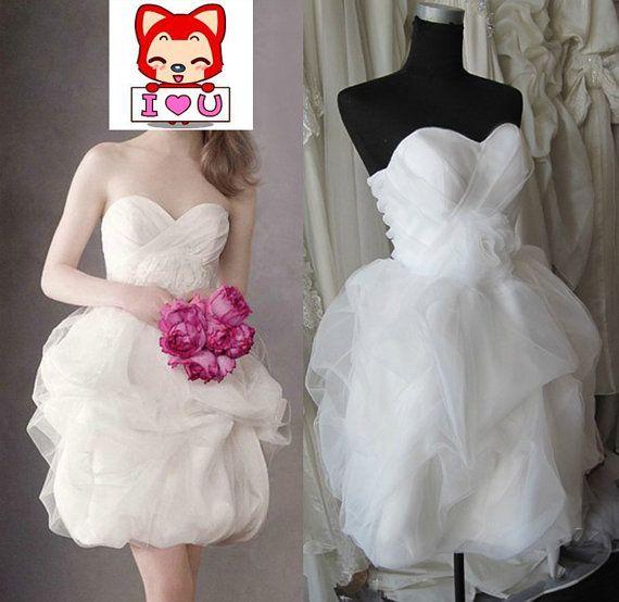 reception dress... 2013 White lace wedding dress