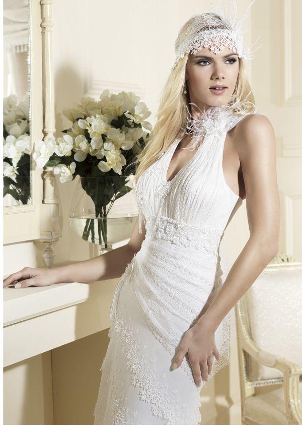 vestidos de novia gilberte   odet saüc   ropa - años 20 /30