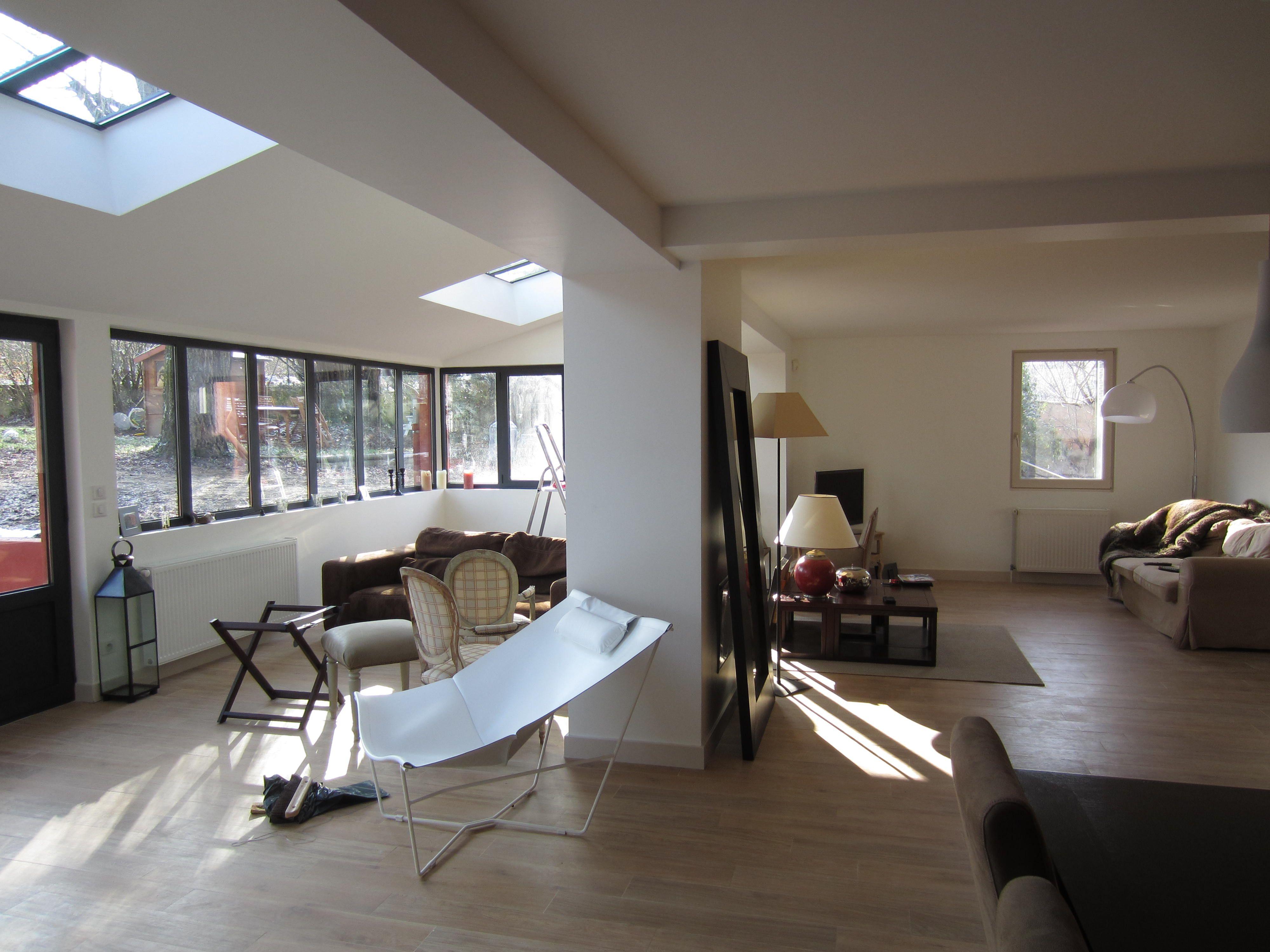 Extension agrandissement d 39 une maison individuelle - Extension maison verriere ...