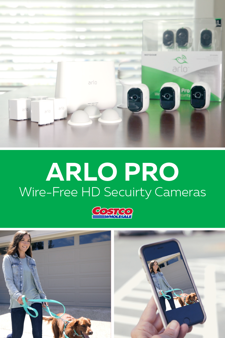 Stay on top of what's happening at home with the Arlo Pro Wire-Free