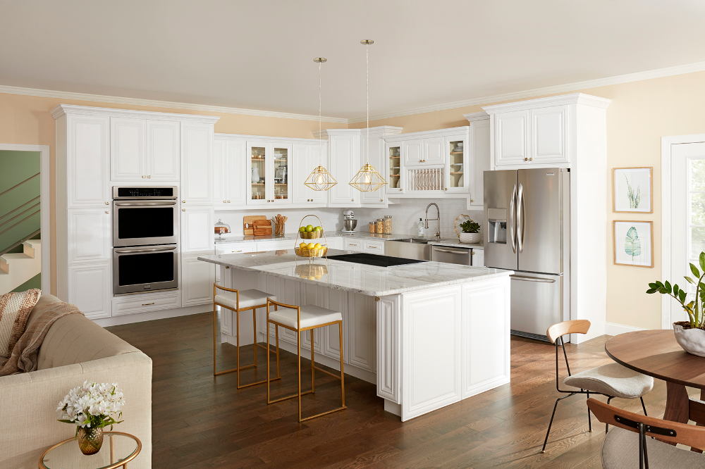 Best Cabinet Sample Aspen White Kitchen Cabinet Styles 400 x 300