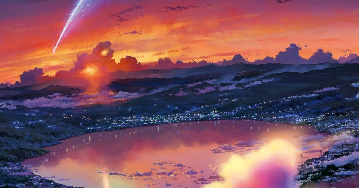Your Name Wallpapers Wallpaper Cave Kimi No Na Wa Wallpapers Wallpapertag Luxury Wallpaper Video Kimi No Na In 2020 Anime Scenery Your Name Anime Landscape Wallpaper