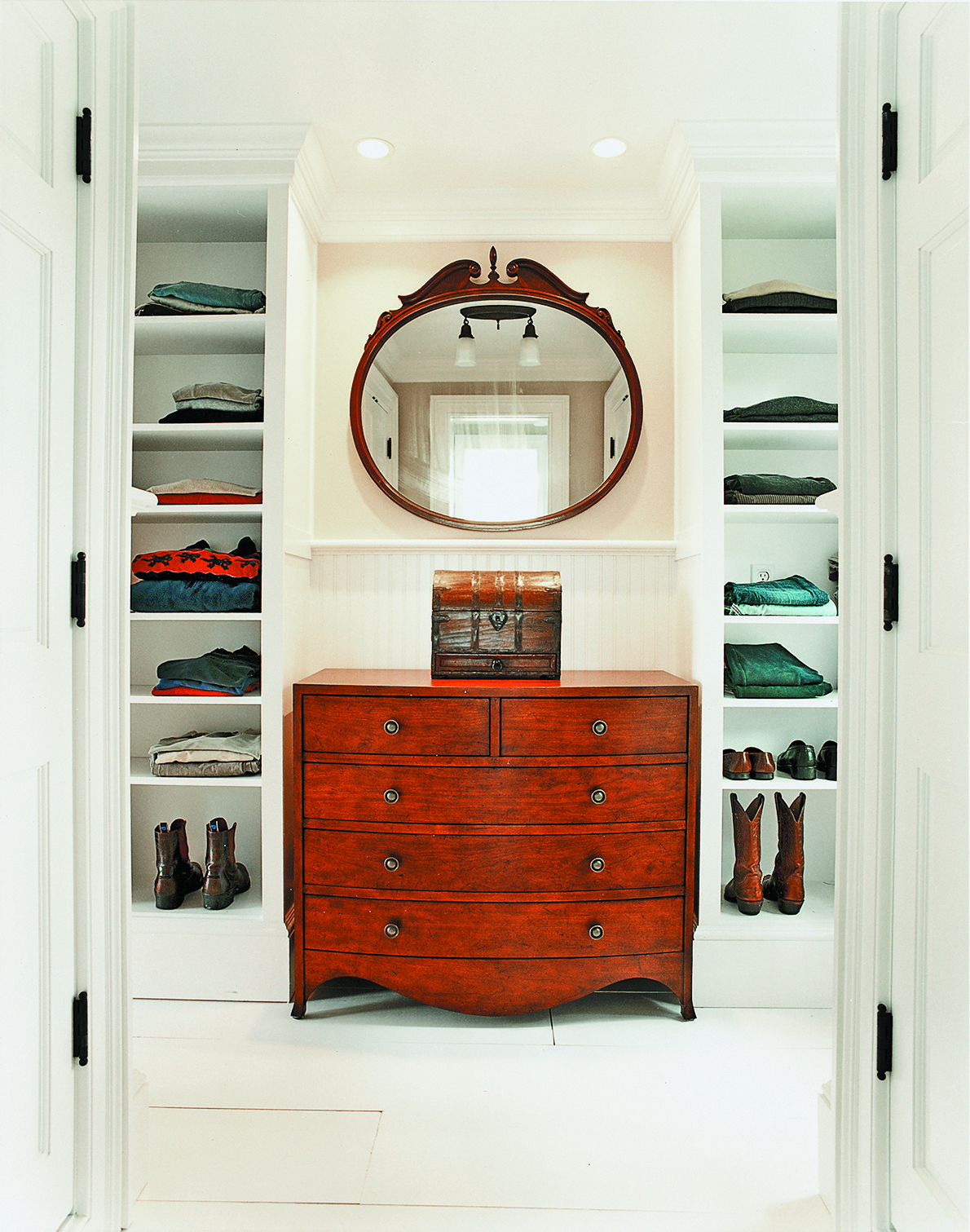 Builtin Storage Ideas Build a closet, Master bedroom