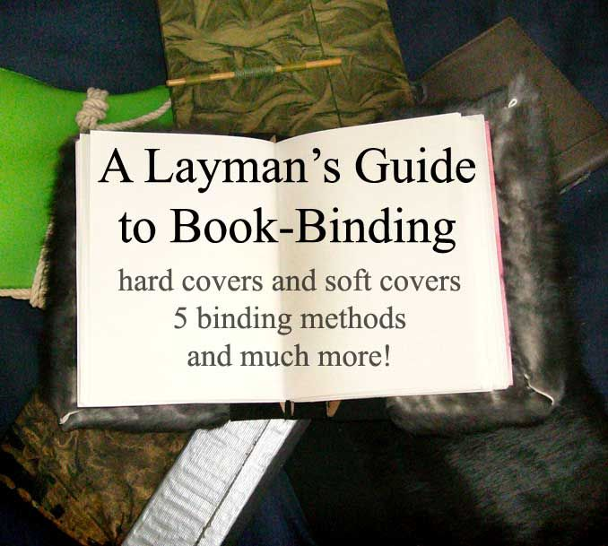 Layman's Guide To Book-Binding By ~Supaslim On DeviantART
