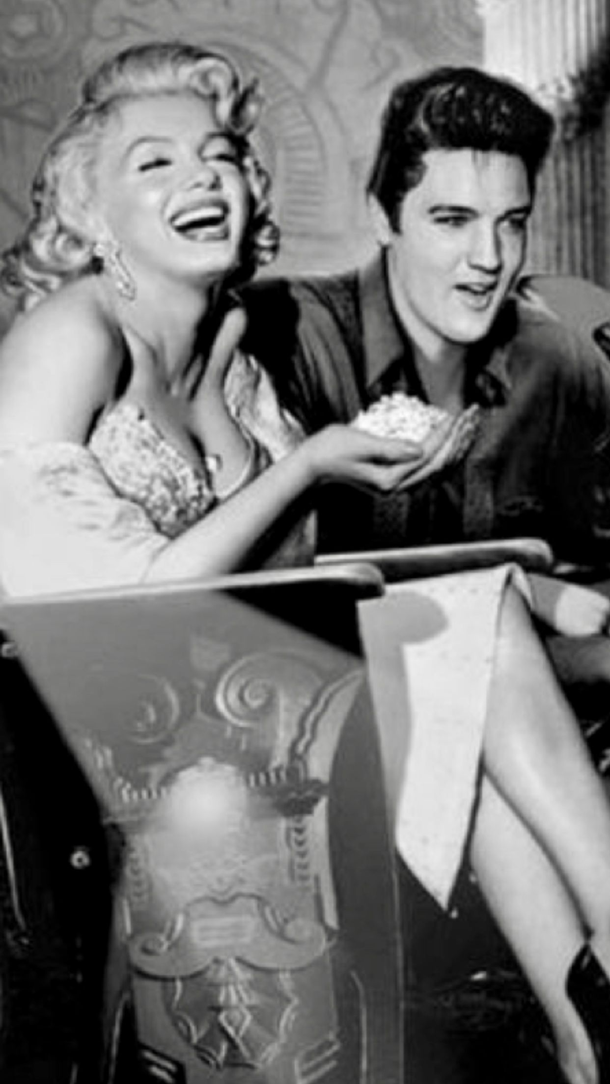 Elvis Marilyn Monroe Marilyn And Elvis A Dedication Elvis Marilyn Marilyn