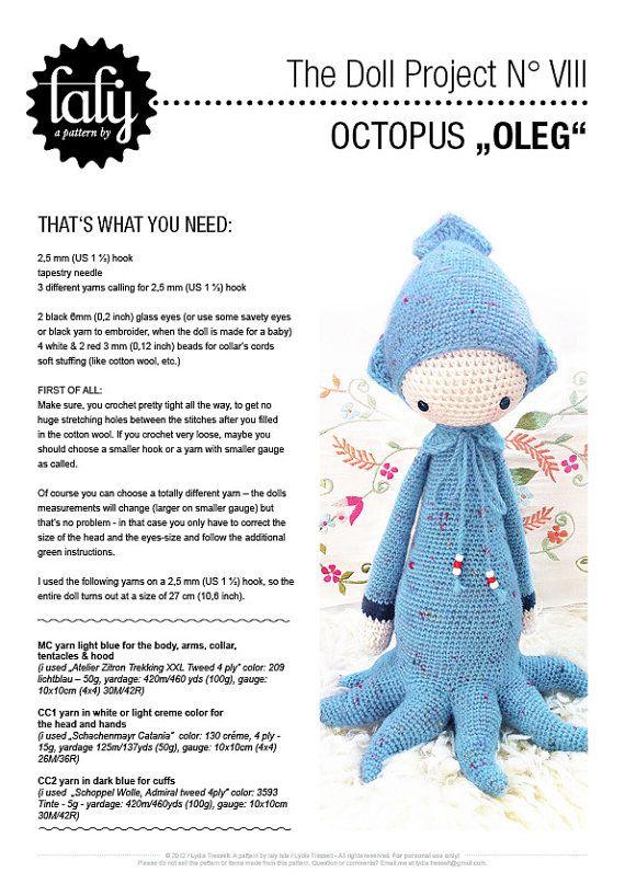 Crochet Lalylala Christmas / Lalylala Christmas / Handmade doll ... | 807x570