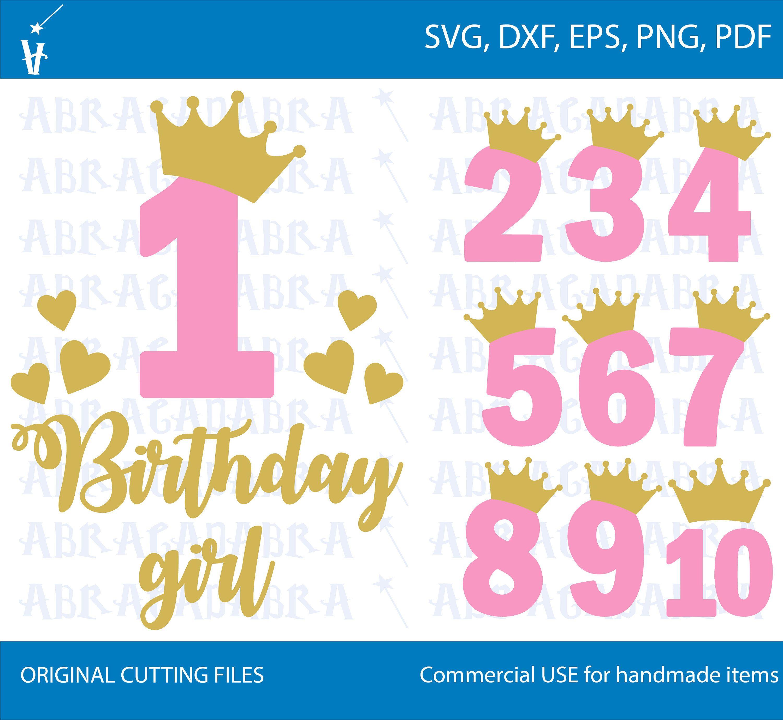 1 10 Numbers Svg Birthday Gold Number Svg Birthday Princess Etsy In 2021 Girl Birthday Princess Birthday Svg