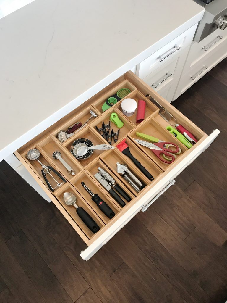 How To Organize Kitchen Utensils. Kitchen Gadget Drawer