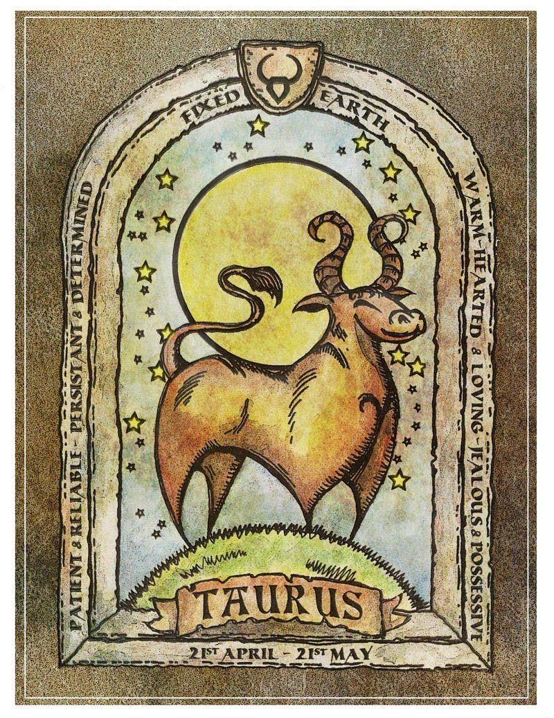 Folktale art inspired Taurus.