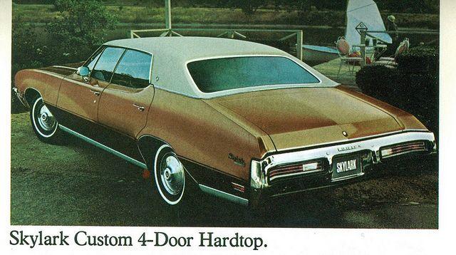 1972 Buick Skylark Custom 4 Door Hardtop Buick Skylark Buick Skylark