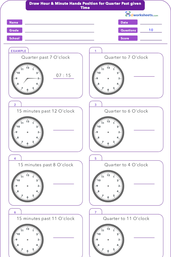 Learning or teaching 3rd Grade Common Core Math Worksheet