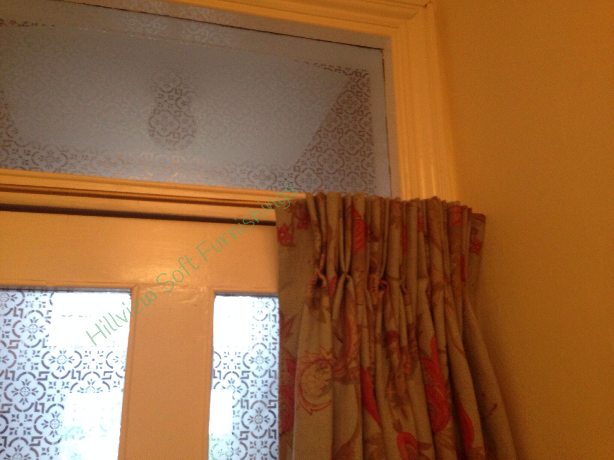 Beautiful Door Curtain With Fabric From Simpson Yorke Fabric On