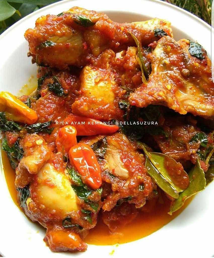 Resep Ayam Rica Rica Kemangi Pedas Manis Oleh Dwi Endarwati Resep Resep Ayam Resep Resep Makanan