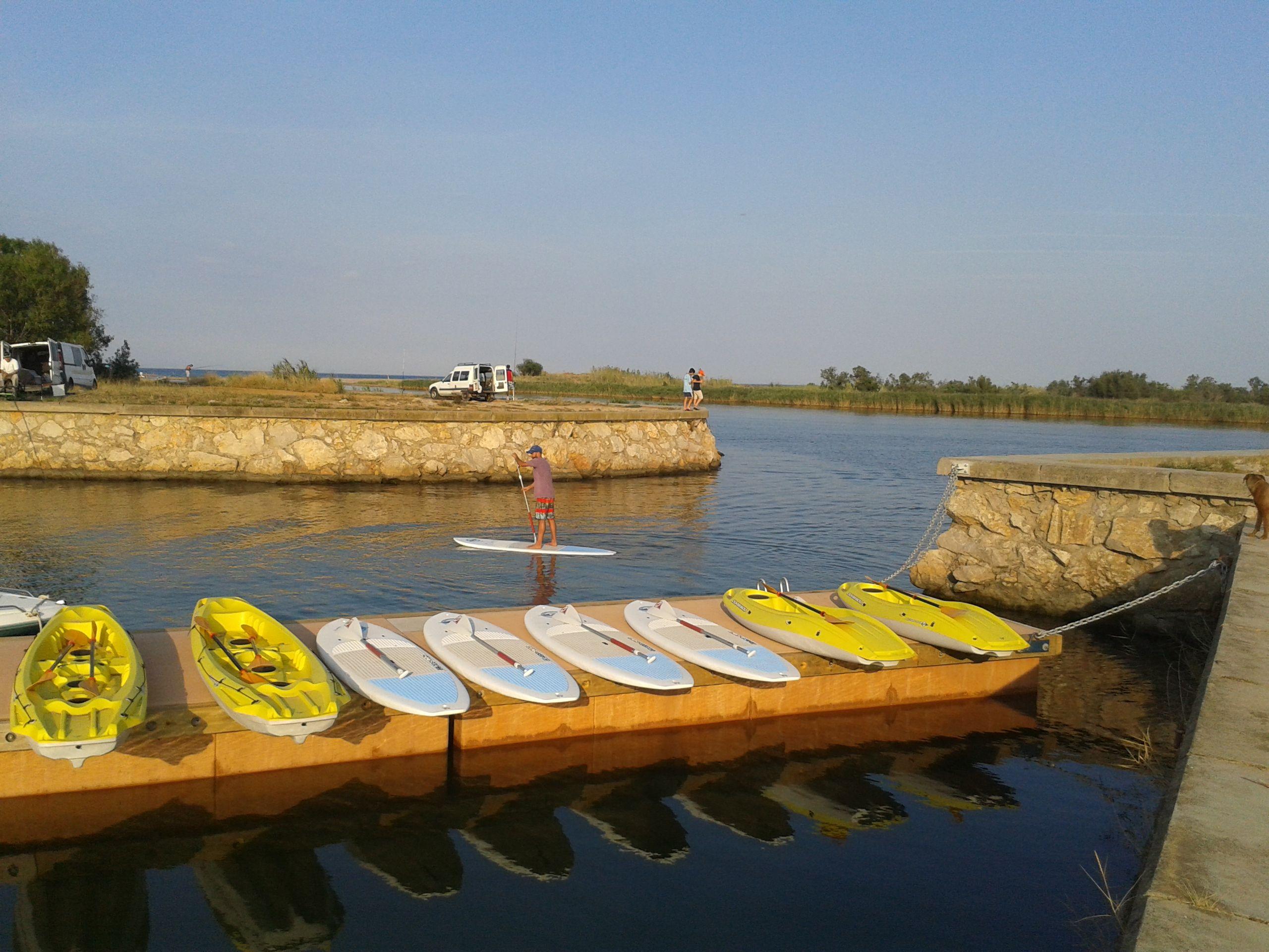 Kayaks y Tablas de SUP
