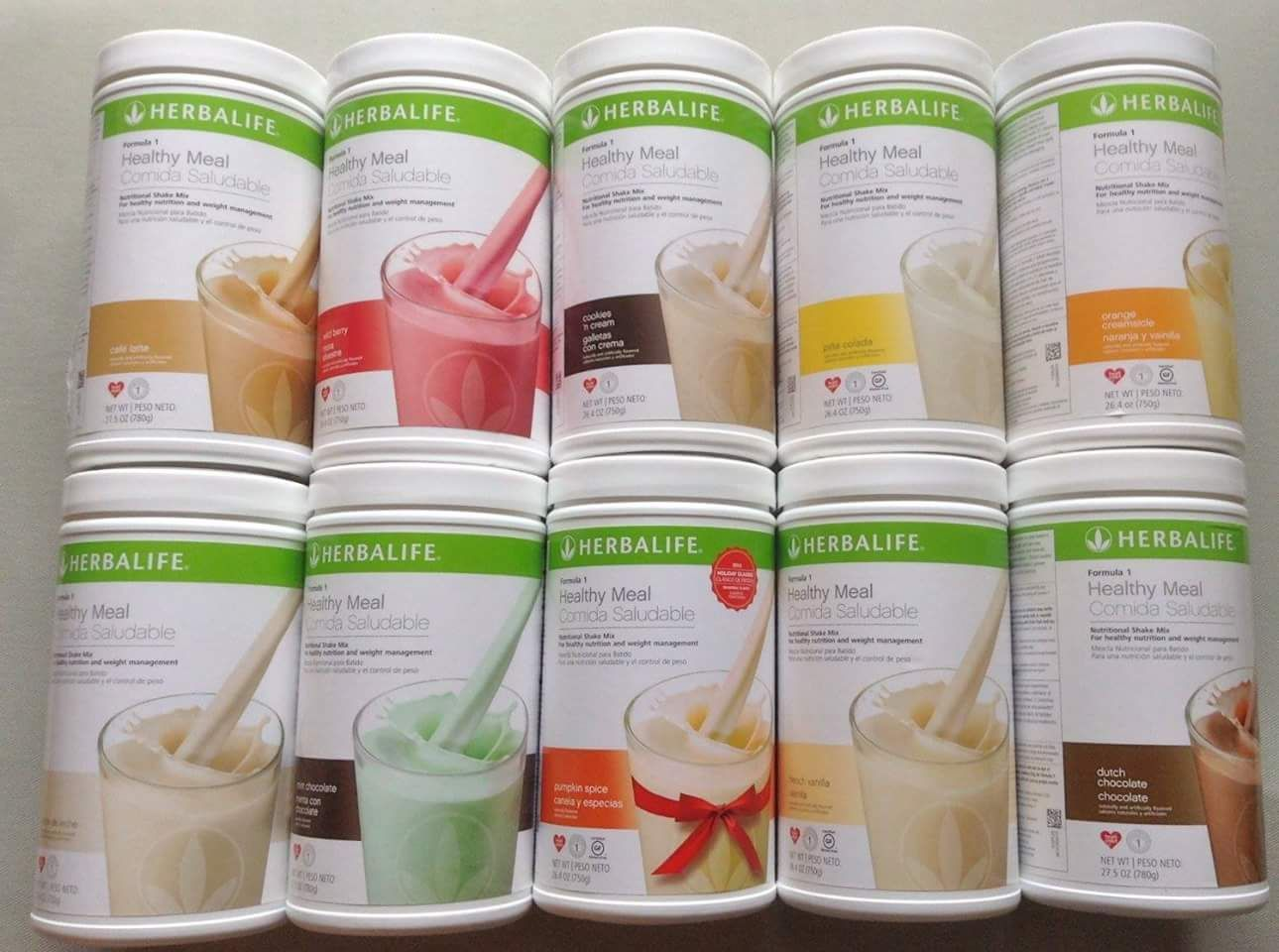 Image result for herbalife flavors