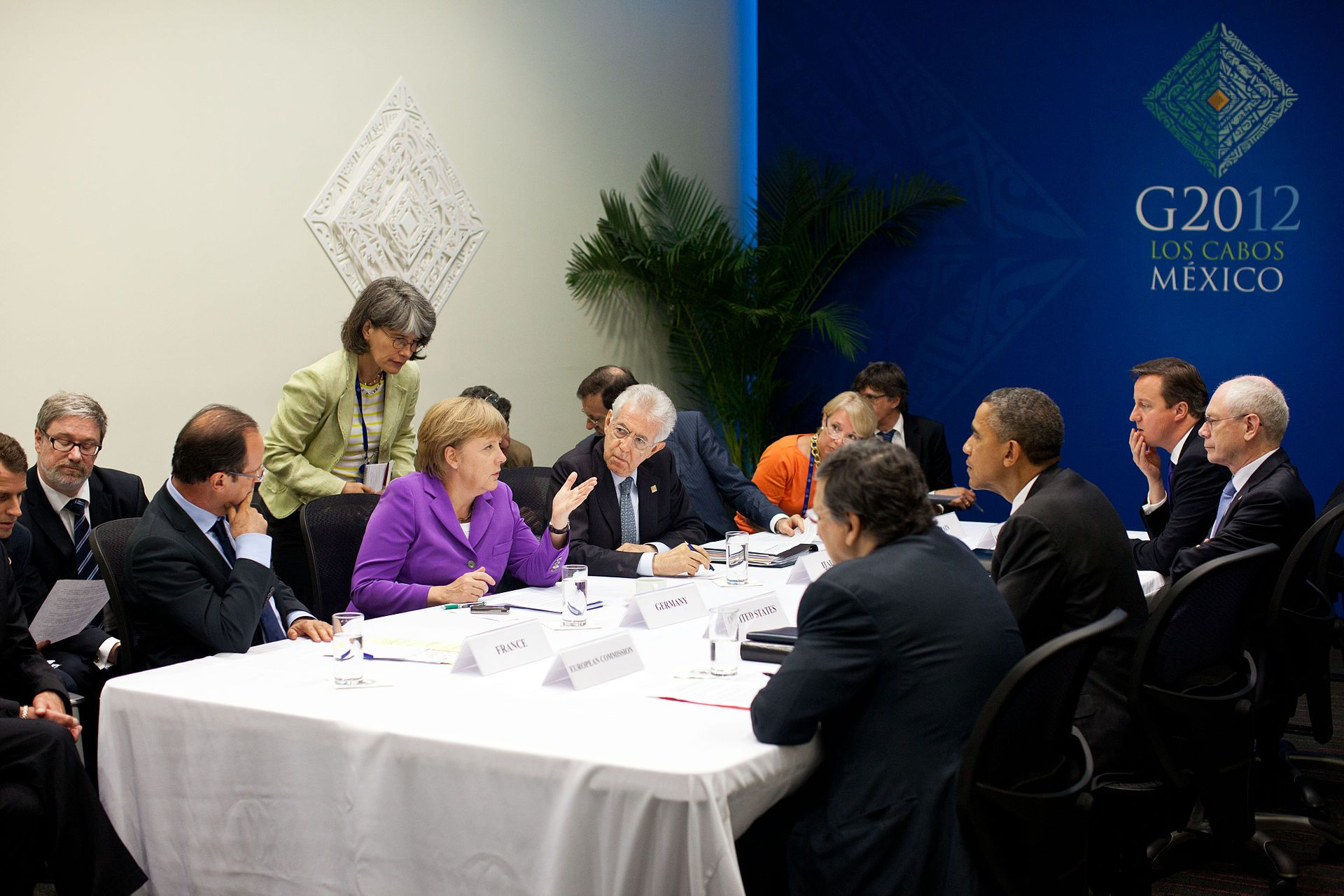 United States and Eurozone leaders at G20 meeting ...