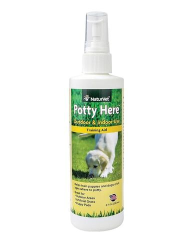 Naturvet Potty Here Training Aid Dog And Puppy Outdoor Indoor