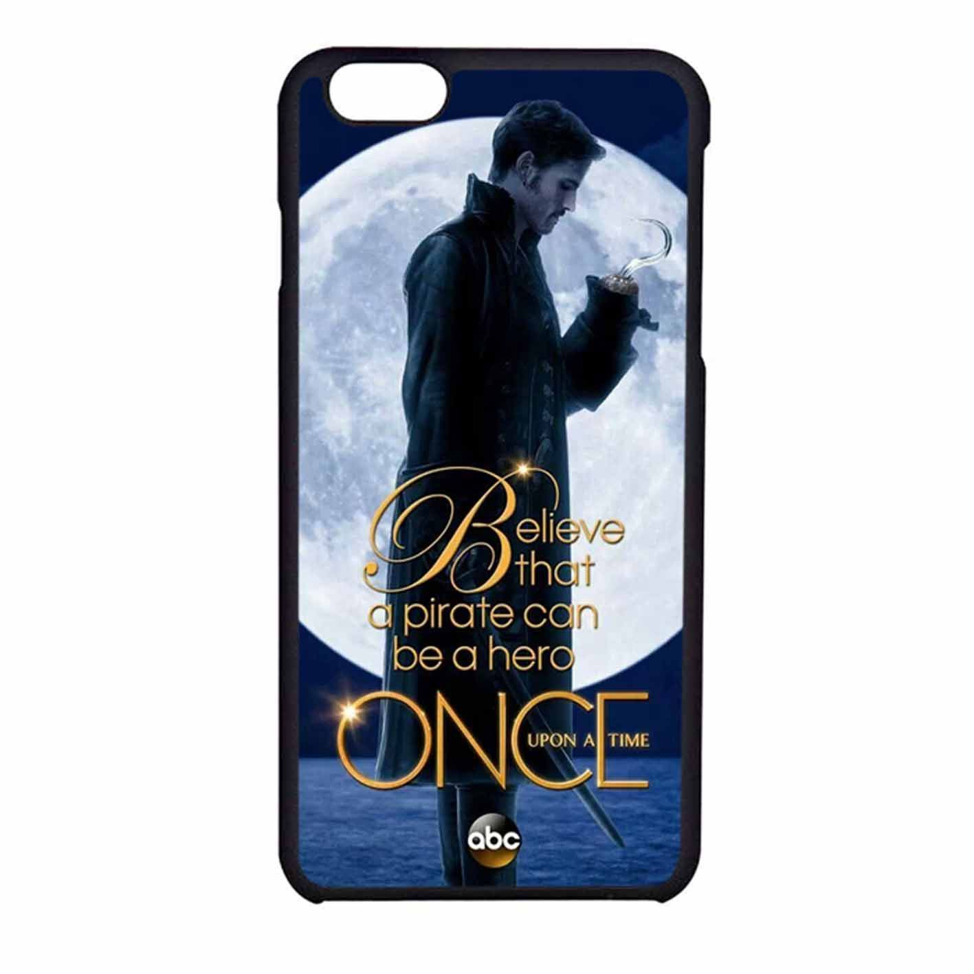 Once Upon A Time Captain Hook Believe iPhone 6 Case