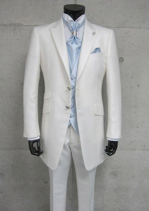 2013 New arrival Groom Tuxedos 100% Wool White Wedding Tuxedos/ Prom ...