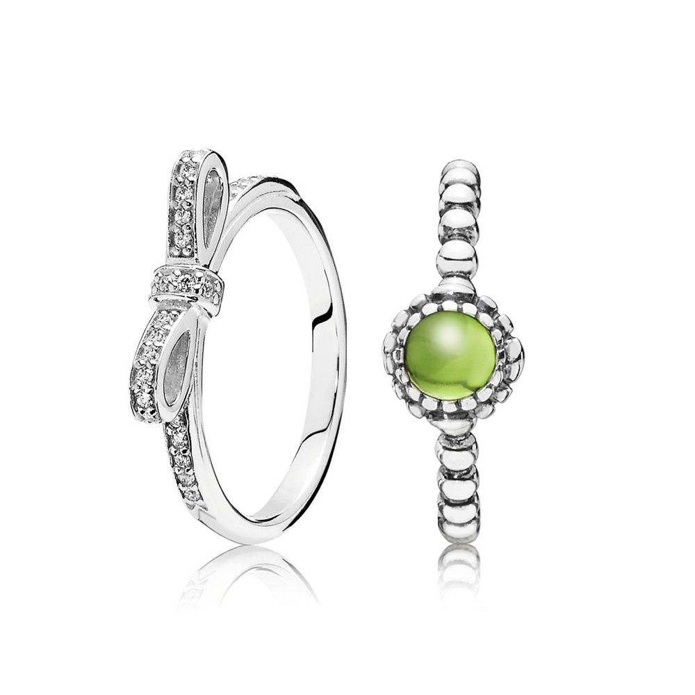 4a6aca9df ... Pandora Two Rings Gift Set - Pandora Rings UK Cheap, Pandora Rings  Clearance Sale Buy pandora august birthstone ...