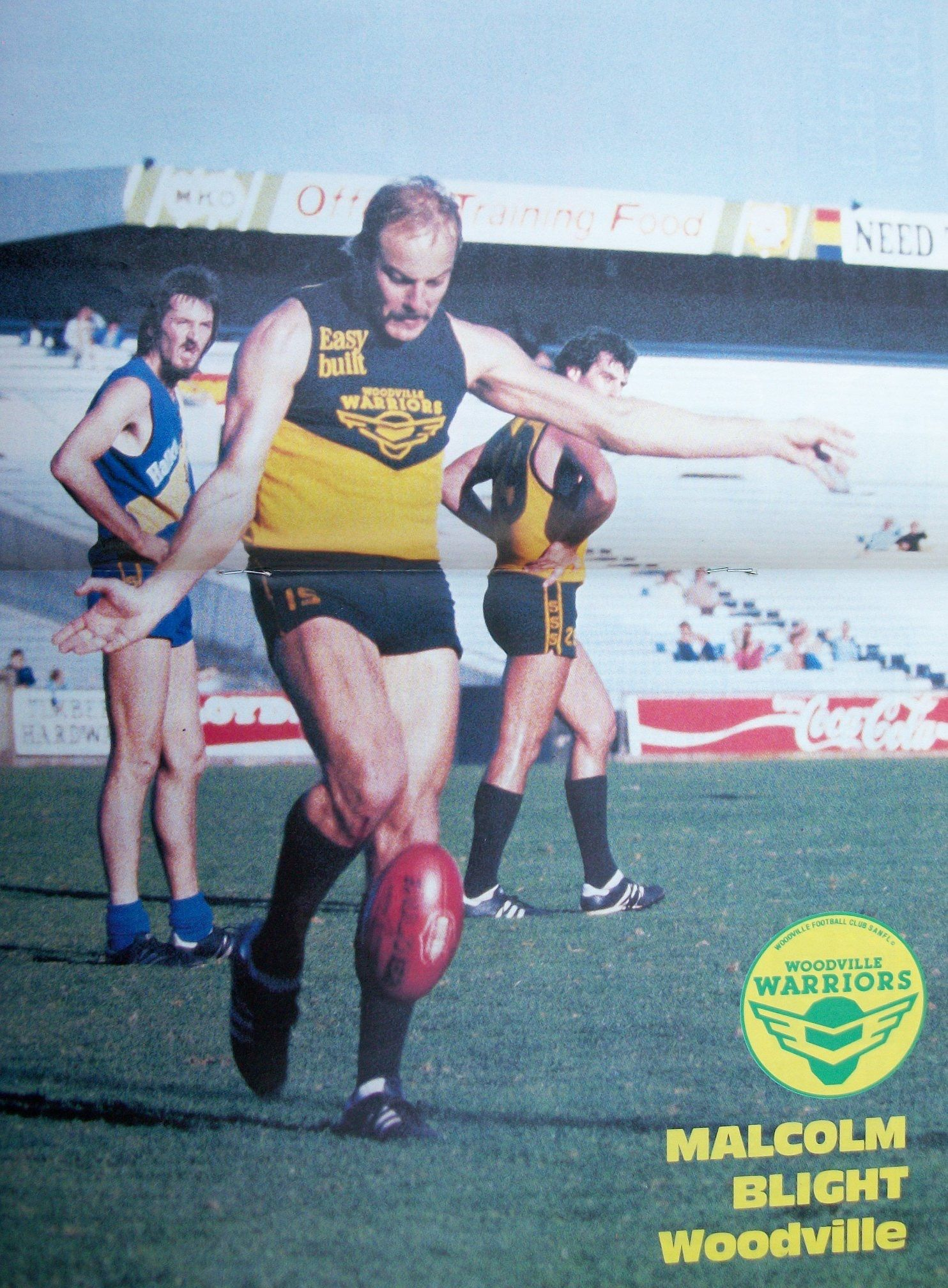 Pin By Sam Braidwood On Woodville Football Club Peckers Warriors 1964 To 1990 Sanfl Football Club National Football League Footy