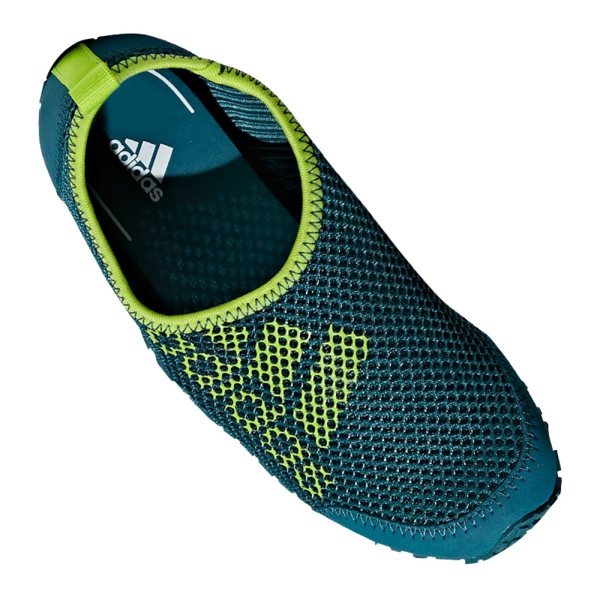 Buty do wody adidas Kurobe K Jr CM7644 zielone niebieskie   Water ...