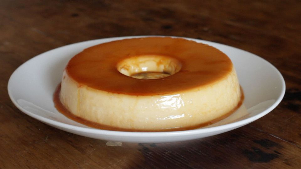 Brazilian Stye Sweet Condensed Milk Flan Would Make It Without The Sugar And Evaporated Milk Instead Of Con Comidas Dulces Tortas Flan Casero Receta Facil