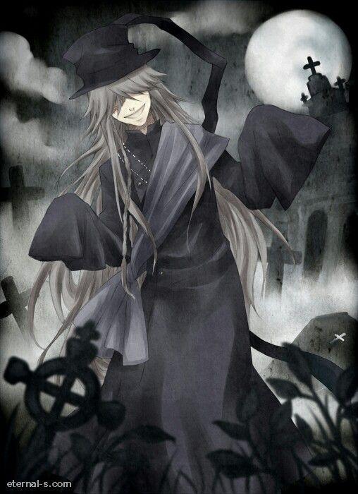 Undertaker Blackbutler Shinigami Kuroshitsuji Anime Manga