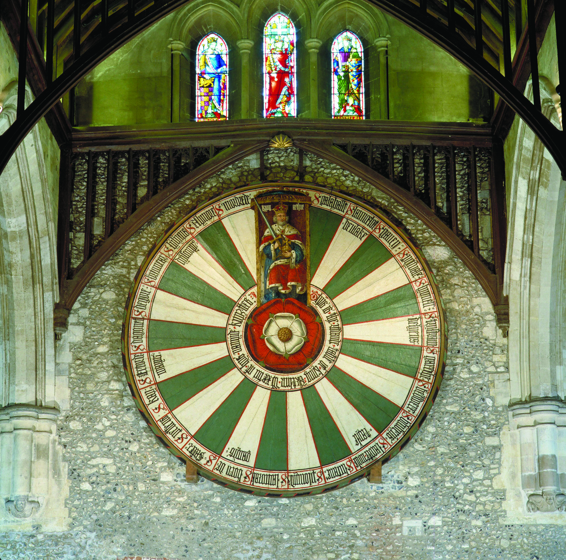 King Arthur's Round Table, Winchester   Roi arthur table ronde, Winchester,  Ville médiévale