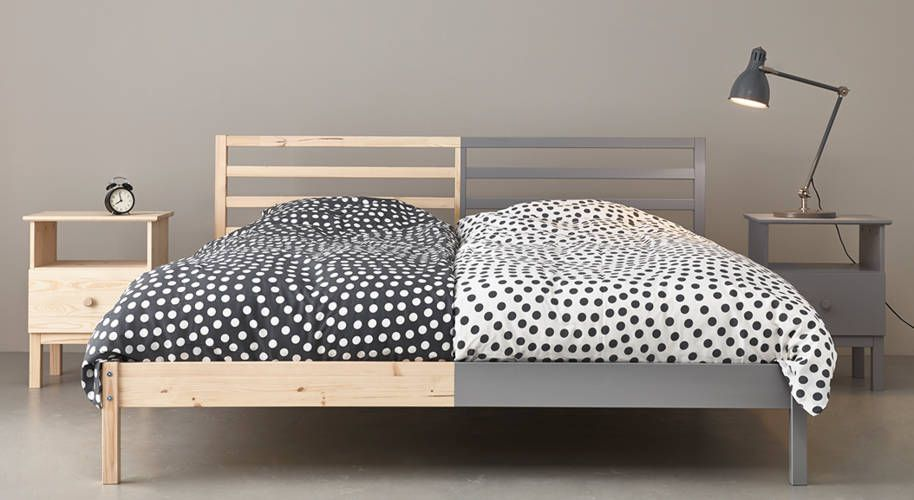 Tarva Bedframe Maybe I Should Paint It Ikea Bed Frames Tarva