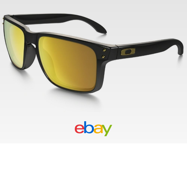 a0421bf9a0b48 Oakley Holbrook OO9102-08 Sunglasses Polished Black Frame 24K ...