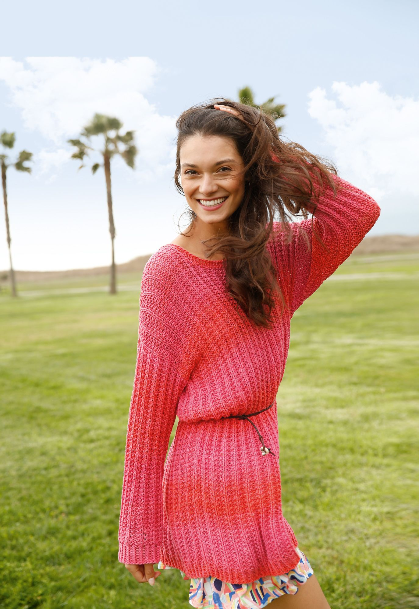 Weiter Pullover mit Strukturmuster | Knit and wear | Dresses
