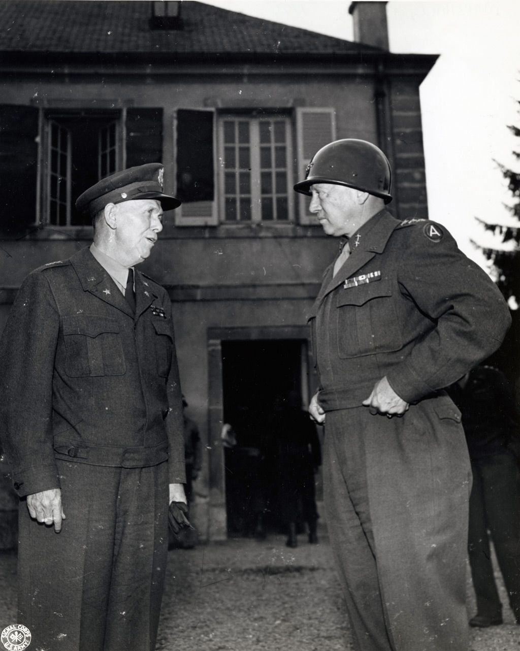 General george c marshall quotes - Generals George C Marshall And George S Patton Jr Apparently Oct
