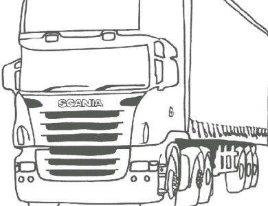 desenhos de pintar imprimir e colorir desenhos de caminhões