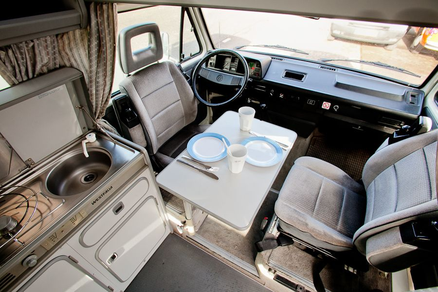 Volkswagen t3 westfalia california 2 diy ideas on da for Interieur westfalia t3