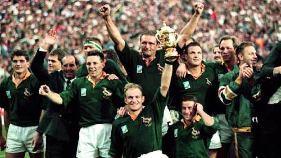 1995 Rugby World Cup Unifying A Divided Nation World Cup Teams Springbok Team Rugby World Cup