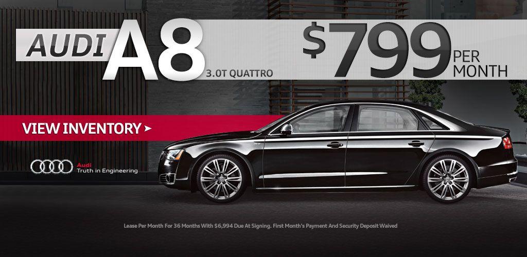 AUDI A8 Audi dealership, Used audi, Audi a8