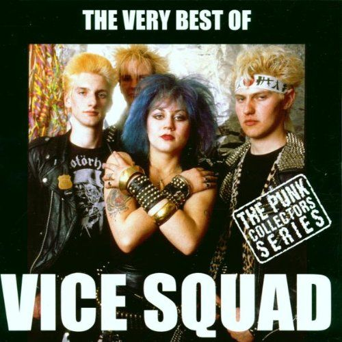 The Very Best of Vice Squad: 1. Last Rockers 2. Latex Love 3. Resurrection 4. Young Blood 5. Humane 6. Out Of Reach 7. (So) What For The Eighties 8. Sterile 9. Stand Strong Stand Proud 10. Rock N'Roll Massacre 11. Freedom Begins At Home 12. Saviour Machine 13. Propaganda 14. Citizen 15. Scarred For Life 16. Black Sheep 17. New Blood 18. You'll Never Know 19. Times They Are A-Changin 20. Teenage Rampage 21. Take It Or Leave It 22. Out In The Cold 23. The Rest Of Your Life 24. Nothing
