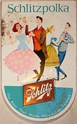 Signs: Post-Pro Schlitz Beer Jos. Schlitz Brewing Company Milwaukee WI USA