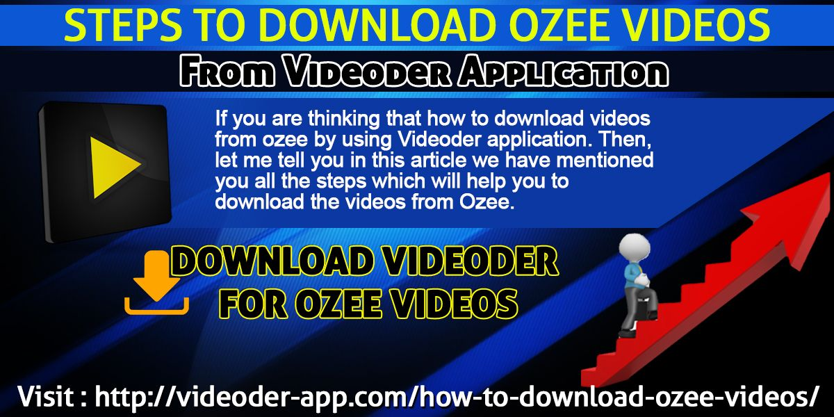 If you are thinking that how to download videos from ozee
