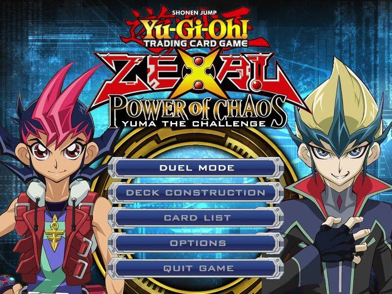 YuGiOh! ZEXAL Power of Chaos Mod PC Game