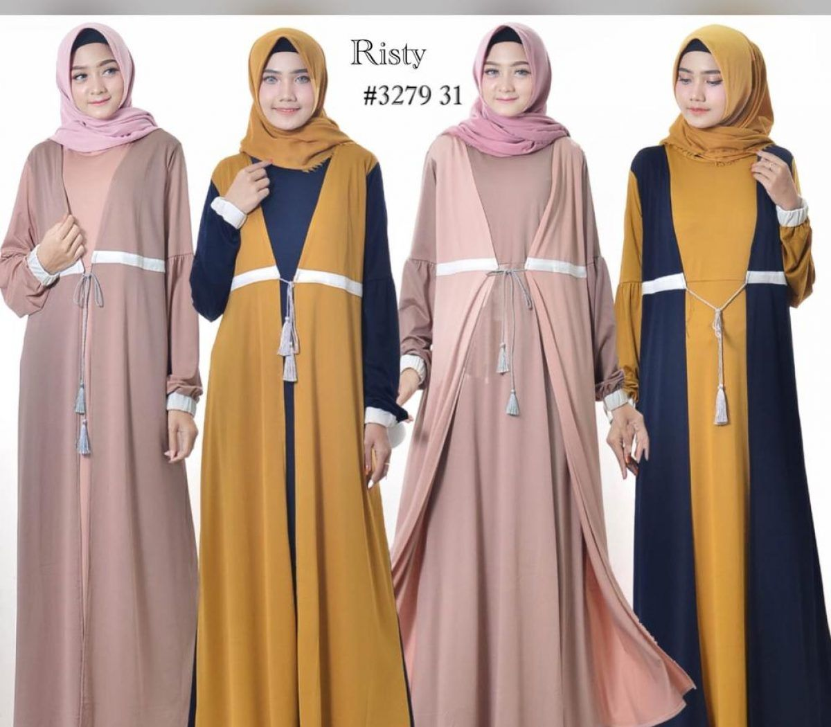 Pin di Model Baju Muslim