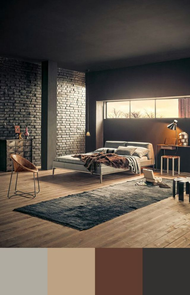 Tendance couleur chambre à coucher unique Bedrooms, Interiors and - couleur de la chambre