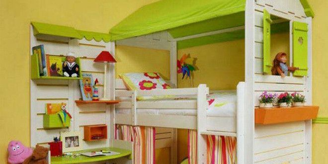 Cama niña con palets | Cots and Bunk Beds | Pinterest | Camas niños ...