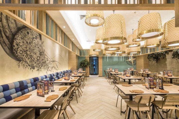 Fish Co 2 Restaurant By Metaphor Interior Architecture Jakarta Indonesia Retail Design