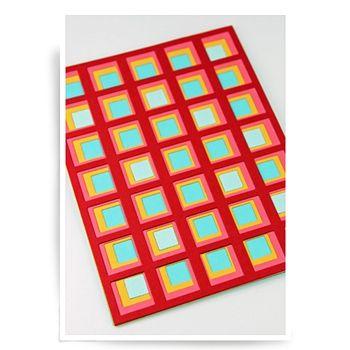 Birch Press Design MAXWELL LAYER SET Blueprint Craft Dies 57023 - fresh blueprint paper color