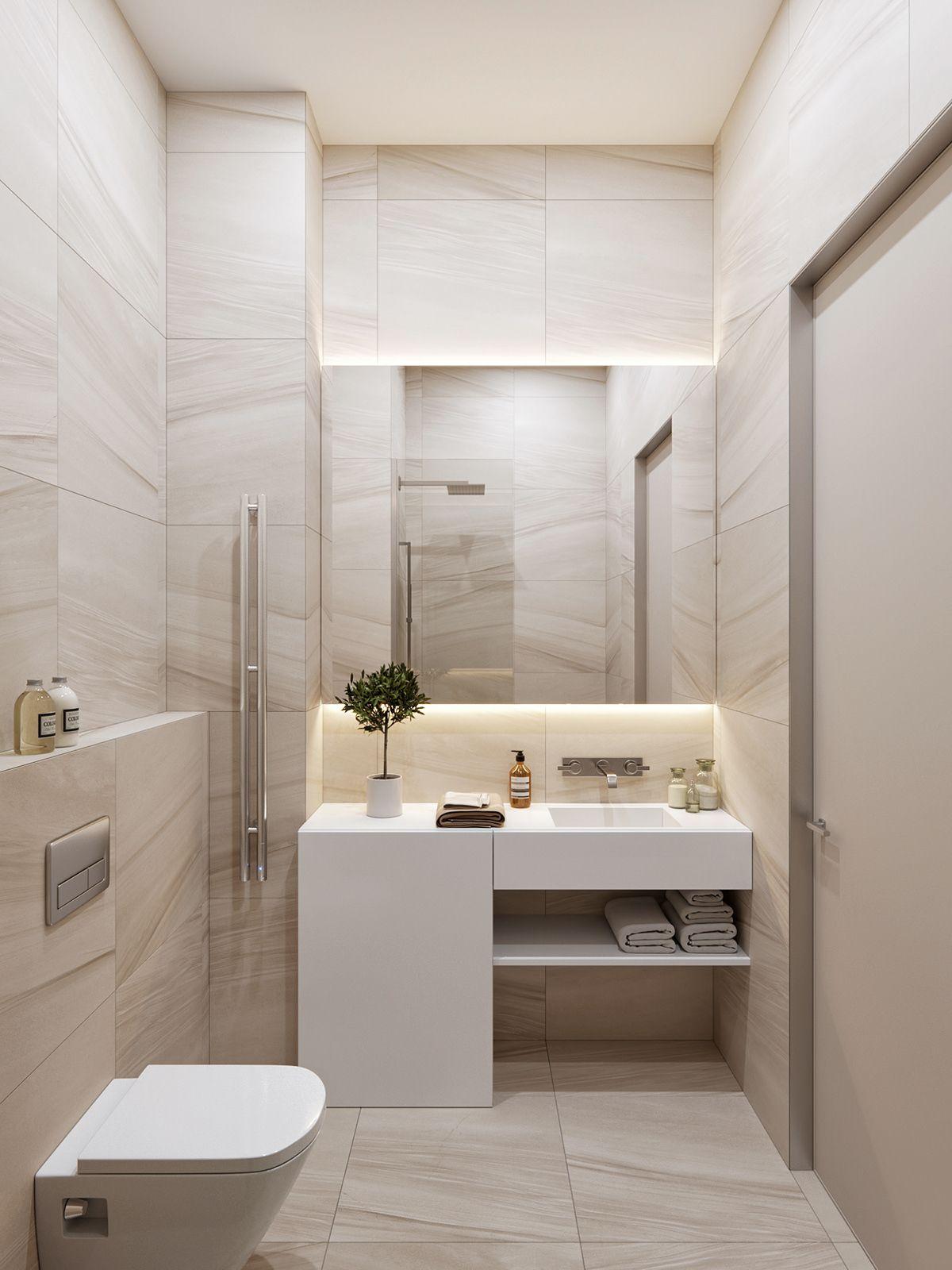 Une Kitchenette Peut Etre Design Bathroom Design Small Bathroom