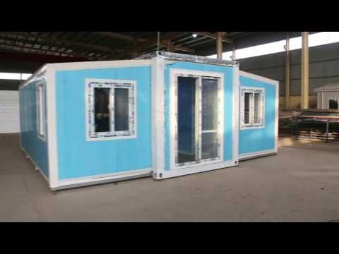 Installation And Introduction Of 20ft Folding Expandable Container House Youtube Container House Container House Plans Shipping Container Home Builders