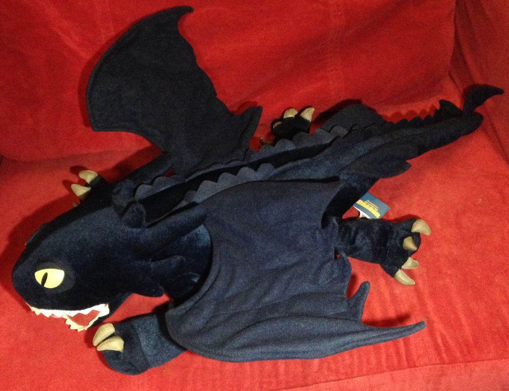 87cb6933244 How to Train Dragon - Toothless Night Fury - Pillowtime Pal Plush - Large  32 in  Dreamworks